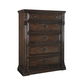 A.R.T. Whiskey Oak Drawer Chest in Barrel Oak 205151-2304