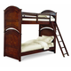 Legacy Classic Kids Impressions Bunk with Trundle/Storage Unit Bedroom Set in Cherry