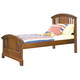 American Woodcrafters Bradford Twin Panel Bed in Rich Cherry 82000-33PAN