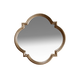 A.R.T. Cosmopolitan Shaped Mirror in White Bronze 208120-2627
