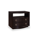 A.R.T. Cosmopolitan Nightstand in Ebony 208141-1815