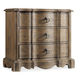 Hooker Furniture Corsica 3-Drawer Nightstand Light Natural 5180-90016