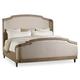 Hooker Furniture Corsica California King Upholstered Shelter Bed in Light Natural 5180-90860