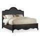 Hooker Furniture Corsica Queen Panel Bed in Espresso 5280-90250