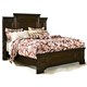 American Woodcrafters Grandeur Queen Panel Bed in Rich Cherry Brown 5200-50PAN