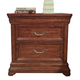 American Woodcrafters Signature Nightstand in Rich Dark Brown 8000-430