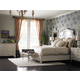 Stanley Furniture Charleston Regency Cathedral Bedroom Set in Ropemakers White