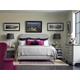 Stanley Furniture Charleston Regency Peninsula Upholstered Bedroom Set in Gray Linen