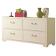 American Woodcrafters Smart Solutions Double Dresser in White 5310-240