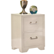 American Woodcrafters Smart Solutions Nightstand in White 5310-420