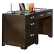 American Woodcrafters Smart Solutions Desk in Merlot 5320-343