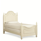Legacy Classic Kids Charlotte Twin Low Poster Bed in Antique White 3850-4203K PROMO