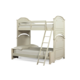 Legacy Classic Kids Charlotte Twin over Full Bunk Bed in Antique White 3850-8140K