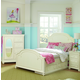 Legacy Classic Kids Charlotte Arched Panel Bedroom Set with Underbed Storage in Antique White