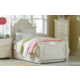 Legacy Classic Kids Charlotte Low Poster Bedroom Set with Trundle in Antique White