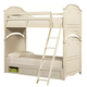 Legacy Classic Kids Charlotte Twin over Twin Bunk Bed with Underbed Storage in Antique White 3850-8130K