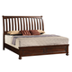Samuel Lawrence Furniture Addison King Bed in Amber 8546-270R