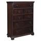 Samuel Lawrence Furniture Chandler Drawer Chest  in Chestnut 8540-040
