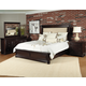 Samuel Lawrence Furniture Chandler  Low Profile Bedroom Set in Chest Nut