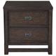 Samuel Lawrence Furniture Jubilee Nightstand in Mocha 8538-050