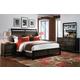 Samuel Lawrence Furniture Jubilee 4-Piece Bedroom Set in Mocha
