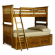 Legacy Classic Kids Bryce Canyon Twin over Full Bunk Bed with Trundle 3900-8140K