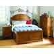 Legacy Classic Kids Bryce Canyon Arched Panel Bedroom Set with Trundle in Heirloom Pine