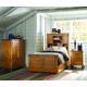 Legacy Classic Kids Bryce Canyon Bookcase Bedroom Set with Trundle in Heirloom Pine