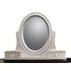 Samuel Lawrence Furniture Girls Glam Vanity Mirror in White 8688-432