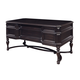 Samuel Lawrence Furniture Lexington Leg Desk in Black 4456-912