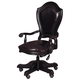 Samuel Lawrence Furniture Lexington Desk Chair in Black 4456-925