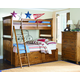 Legacy Classic Kids Bryce Canyon Bunk Bedroom Set with Trundle in Heirloom Pine