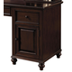Samuel Lawrence Furniture Homework Door Base in Dark Cherry 8616-966