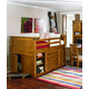 Legacy Classic Kids Bryce Canyon Mid Loft Bedroom Set in Heirloom Pine