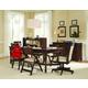 Samuel Lawrence Furniture Homework 8-Piece Office Set in Dark Cherry