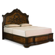 Legacy Classic Pemberleigh Queen Arched Panel Headboard Bed in Brandy Finish 3100-4105K