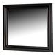 All-American Reflections Landscape Mirror in Ebony