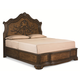 Legacy Classic Pemberleigh California King Arched Panel Headboard Bed in Brandy Finish 3100-4107K