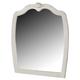 Zarollina Bedroom Mirror in Silver Pearl Faux Gator B182-26 CLEARANCE