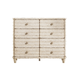 Stanley Furniture Archipelago Ripple Cay Dressing Chest in Blanquilla 186-23-06