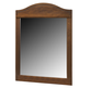 Barchan Vintage Bedroom Mirror in Medium Brown B228-26