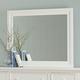 All-American Bebop Landscape Mirror in White