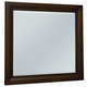 All-American Maple Grove Landscape Mirror in Dark Cherry