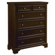 All-American Hanover Chest in Dark Cherry