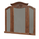 Acme Ponderosa Tri-Fold Mirror in Walnut 01724