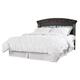 Vachel Queen Panel Bed in Dark Brown