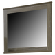Zelen Vintage Bedroom Mirror in Warm Gray B248-36