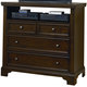 All-American Hanover Media Chest in Cherry