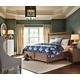 Stanley Furniture Archipelago Nevis Woven Bedroom Set in Shoal