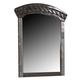 Vachel Classic Bedroom Mirror in Dark Brown B264-36